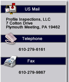 Contact Profile Home Inspections
